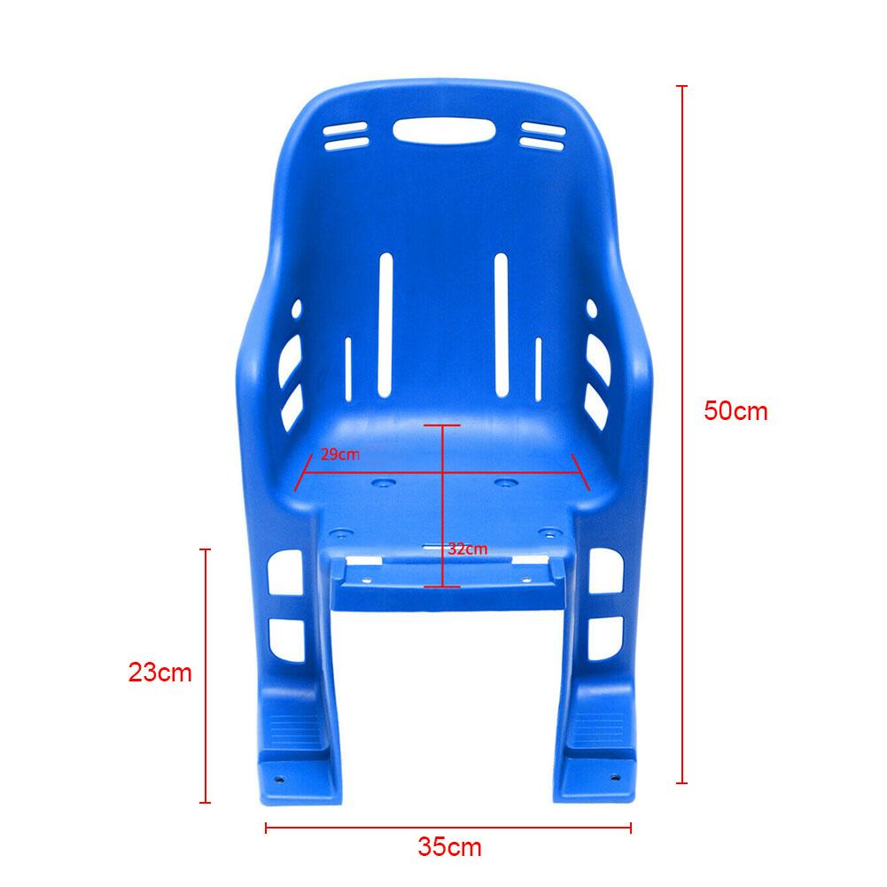Bike Rear Seat Kid Bicycle Bike Rear Handrail Armrest Child Carrier Bike X0J0
