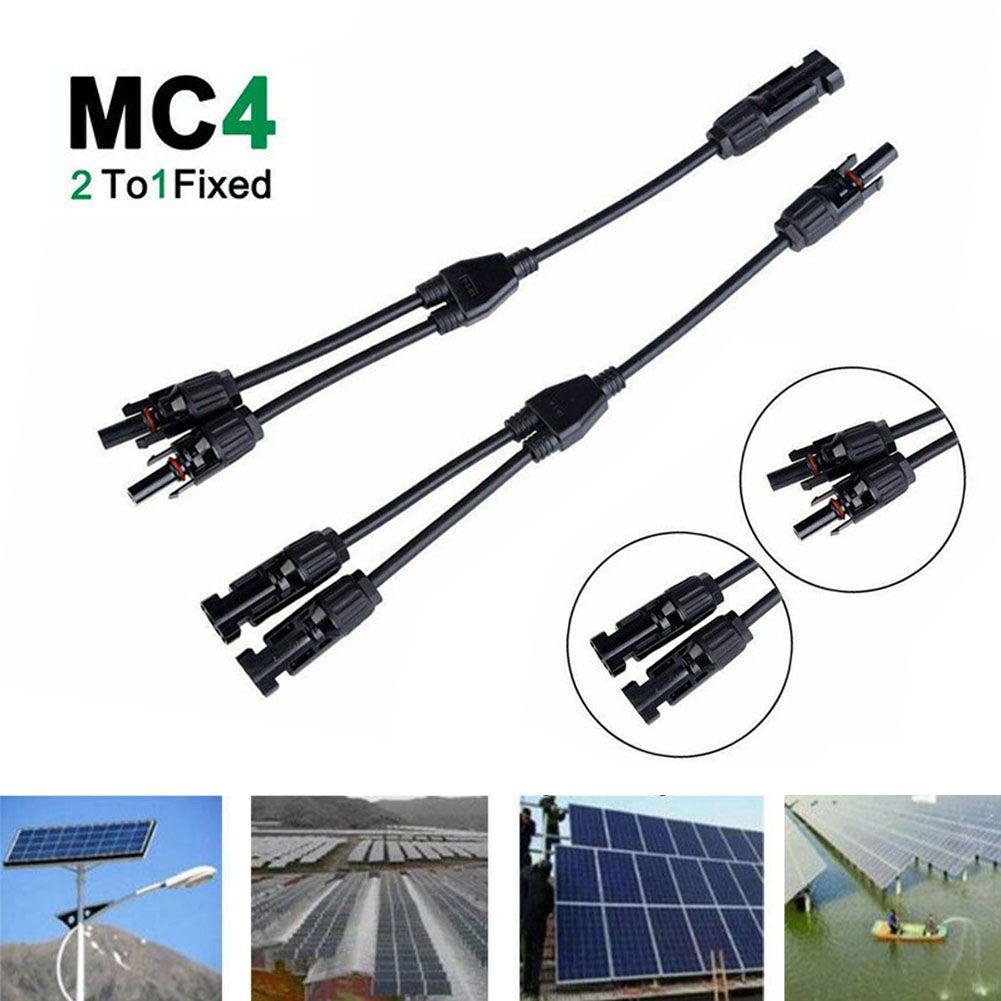 Solar Panel Connector 5 Pairs Solar Panel Cable Connectors MC4 Male//Female Connector Double Seal Rings for Better Waterproof Effect Y-SOLAR