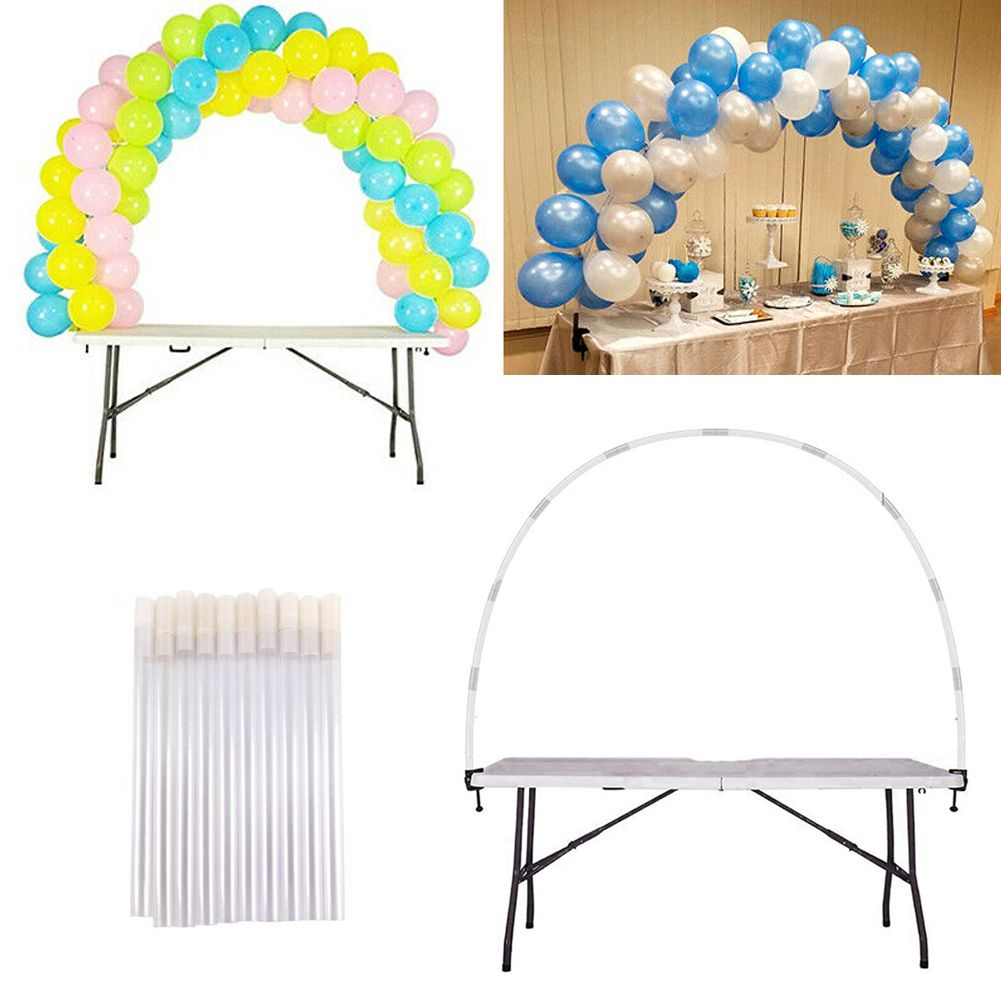 Balloon Arch Set Balloons Column Stand Base Wedding Birthday Party Decoration
