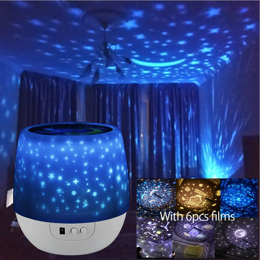 Led Night Star Sky Projector Light Lamp