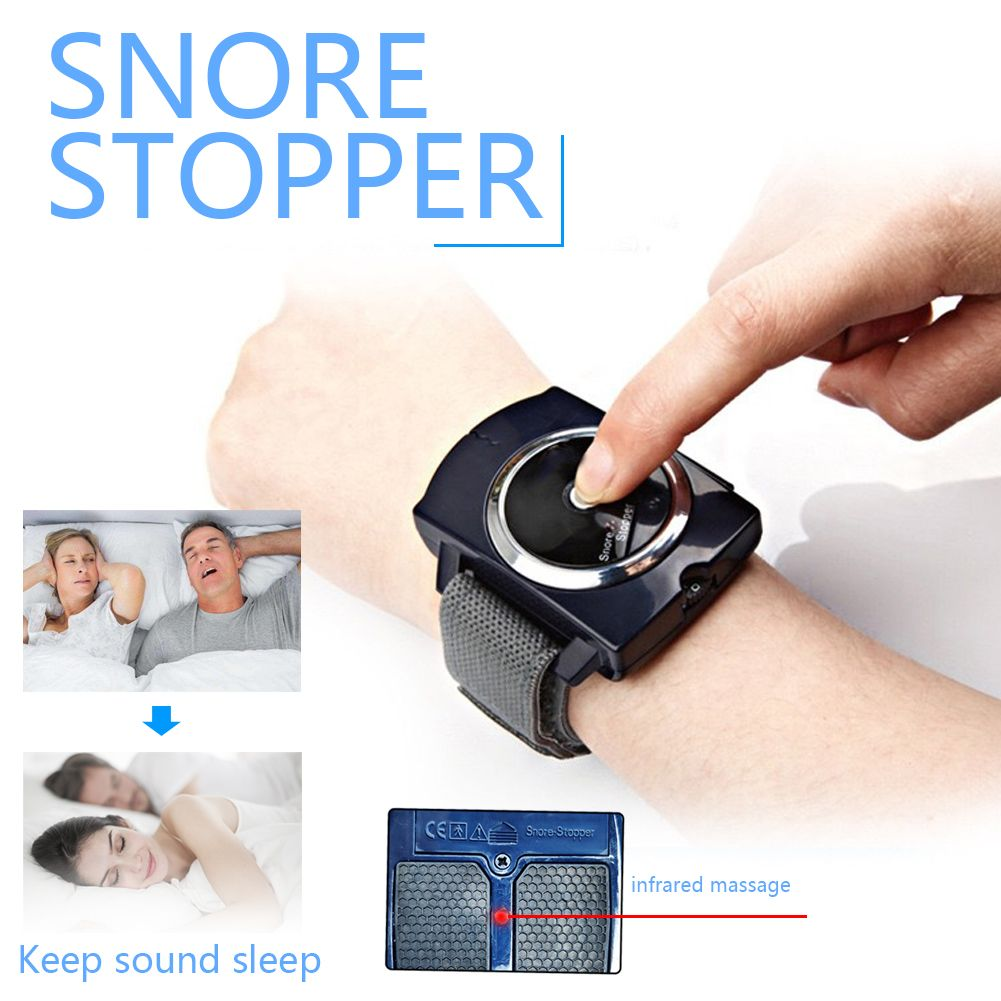 Snore Stopper Sleep Connection Anti Snore Wristband ...