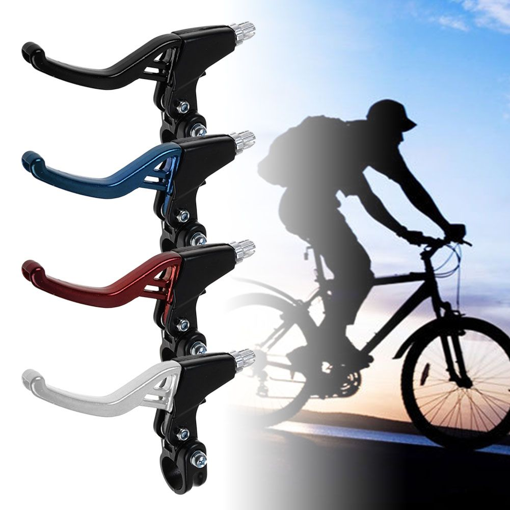 1Pair Brake Levers V-Brakes Set Handle Gear For BMX Mountain Bike MTB Bicycle US