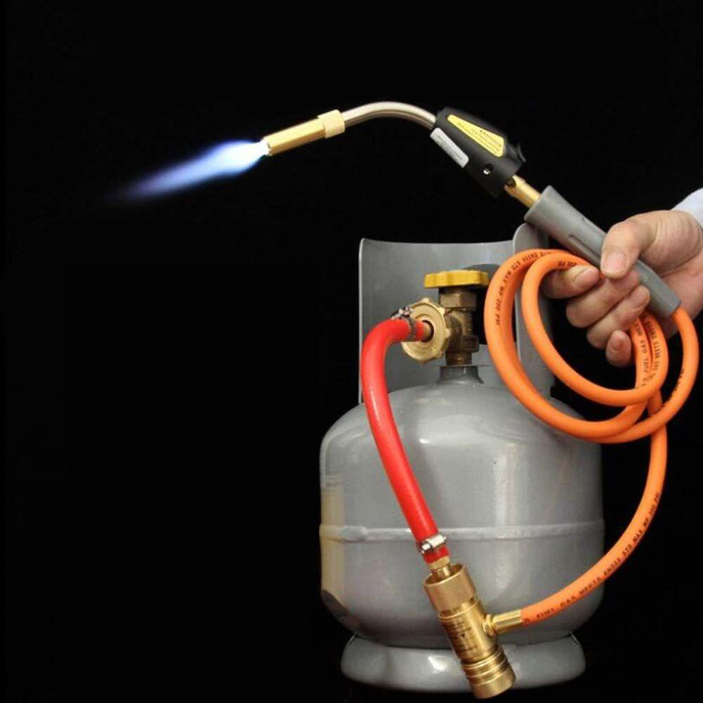 Mapp Gas Self Ignition Plumbing Turbo Torch Propane Soldering Brazing Welding