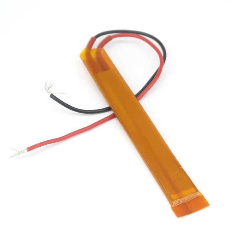 2PCS 100*15*3.5mm 12V-220V 40W-400W Thermostat Aluminum Thin Film PTC Heater