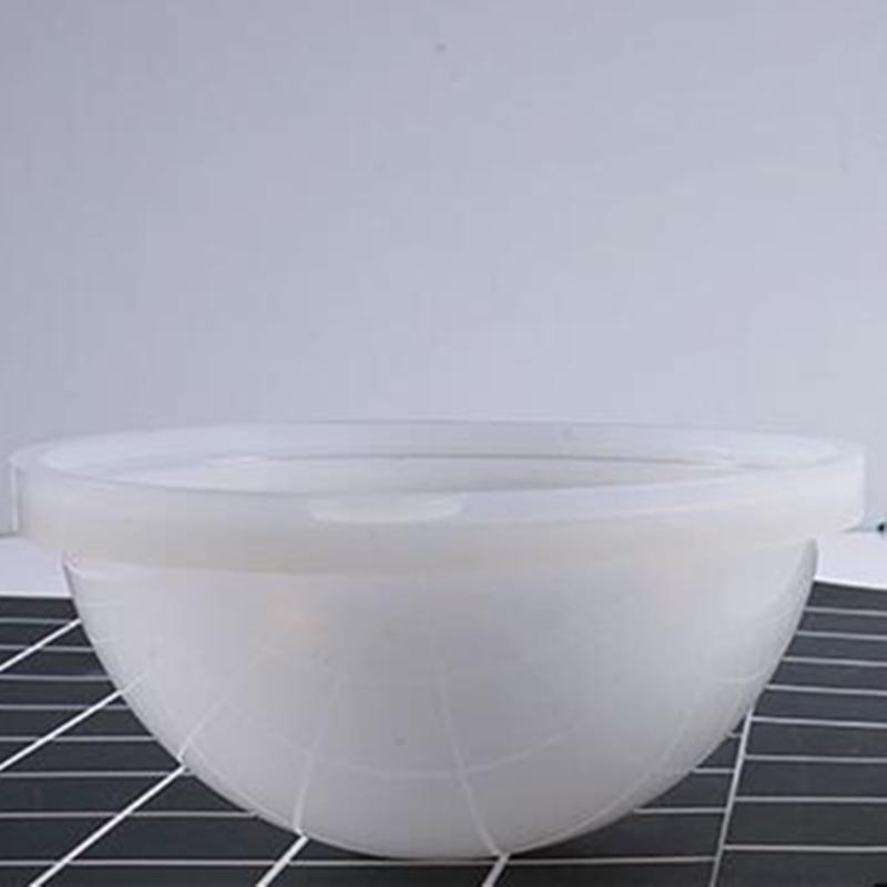 Hazlo tú mismo Grande Esfera Bola Molde de Silicona Molde de fundición de resina 70 80 90 100mm