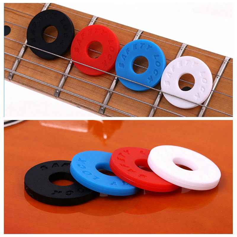 20pcs Silicone Rubber Strap Lock Block Washer Acoustic