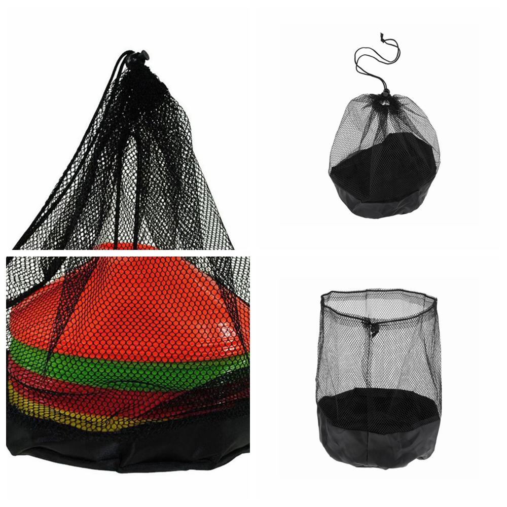 1be2ebd2cf5c Details about Training Aid Nylon Mesh Drawstring Bag Soccer Football Filed  Marker Storage
