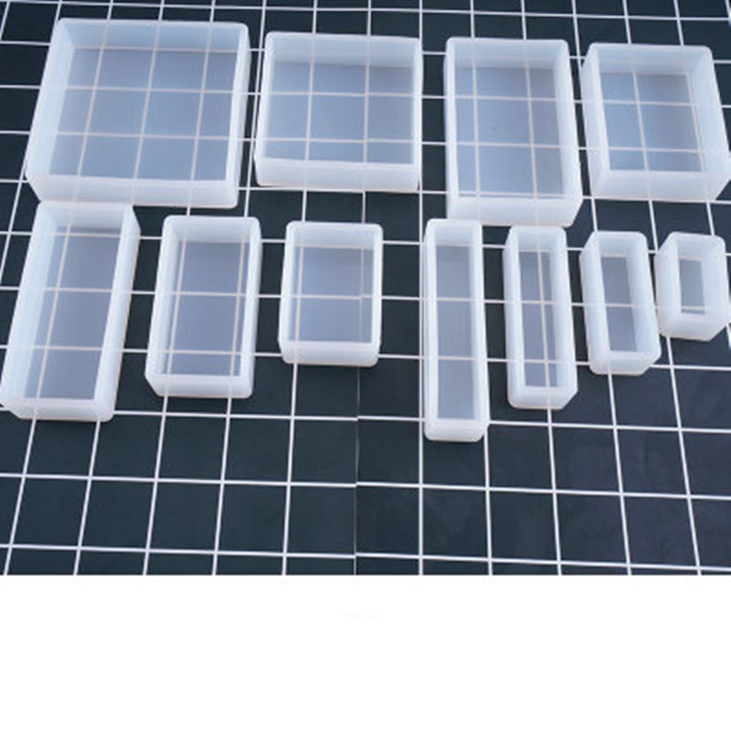 DIY Cube Cuboid Silicone Mold Mould for Soap Resin Epoxy Clay Craft Casting