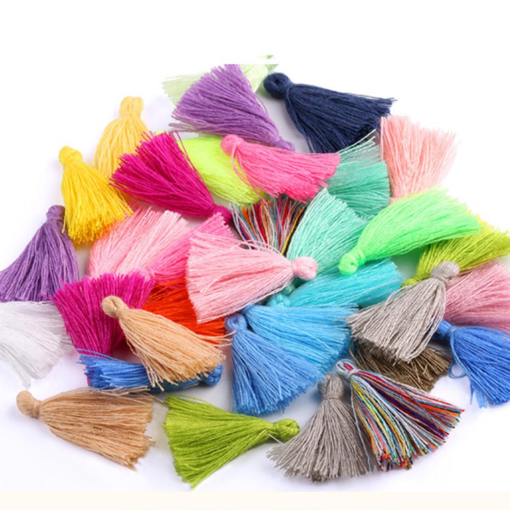 10pcs 120x12mm Rayon Thread Tassel Charm Pendant Tassels Craft Making DIY Lots