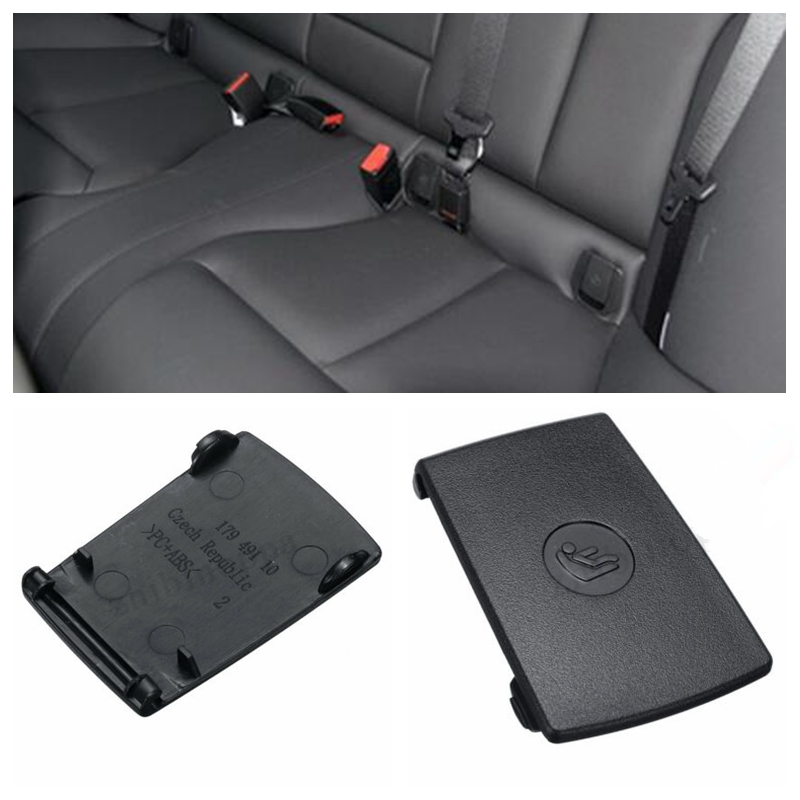 New Rear Child Seat Safety Anchor ISOFix Cover Flap For BMW 1 3 Series E90 F30