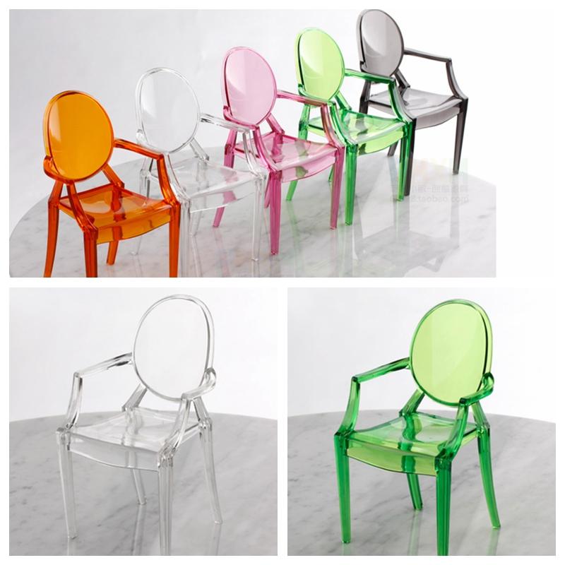 Plastic Chair Furniture Dolls Blythe GREEN Transparent Dollhouse Miniature 1:6