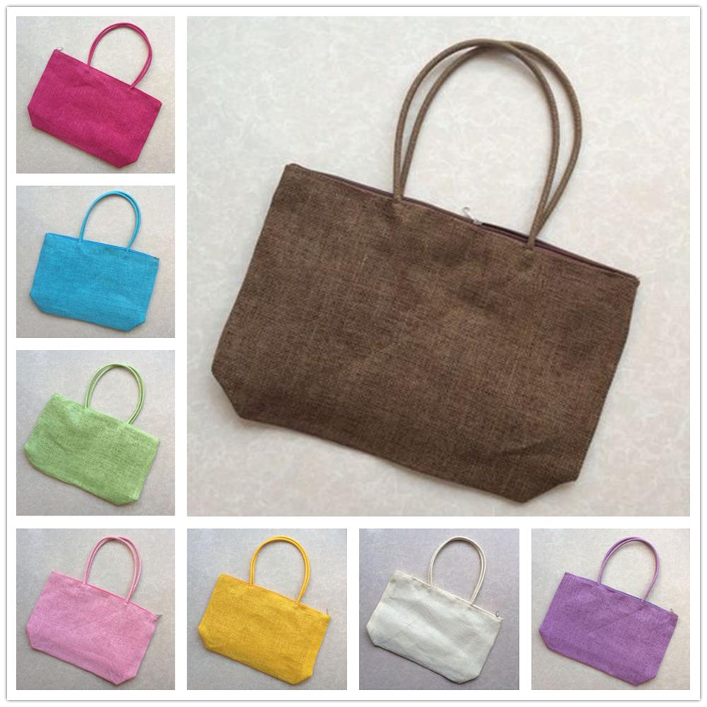 Straw Summer Shopping Beach Weave Woven Shoulder Bag Tote Purse Handbag 2019 New