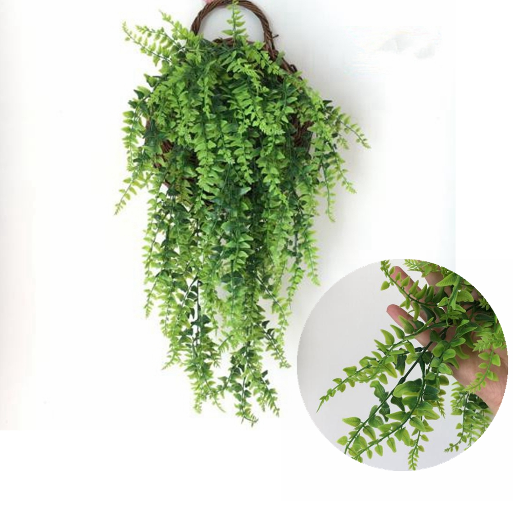 1Pc Artificial Hanging Plants Ivy Vine Outdoor Fake Plant Home Garden Decoration
