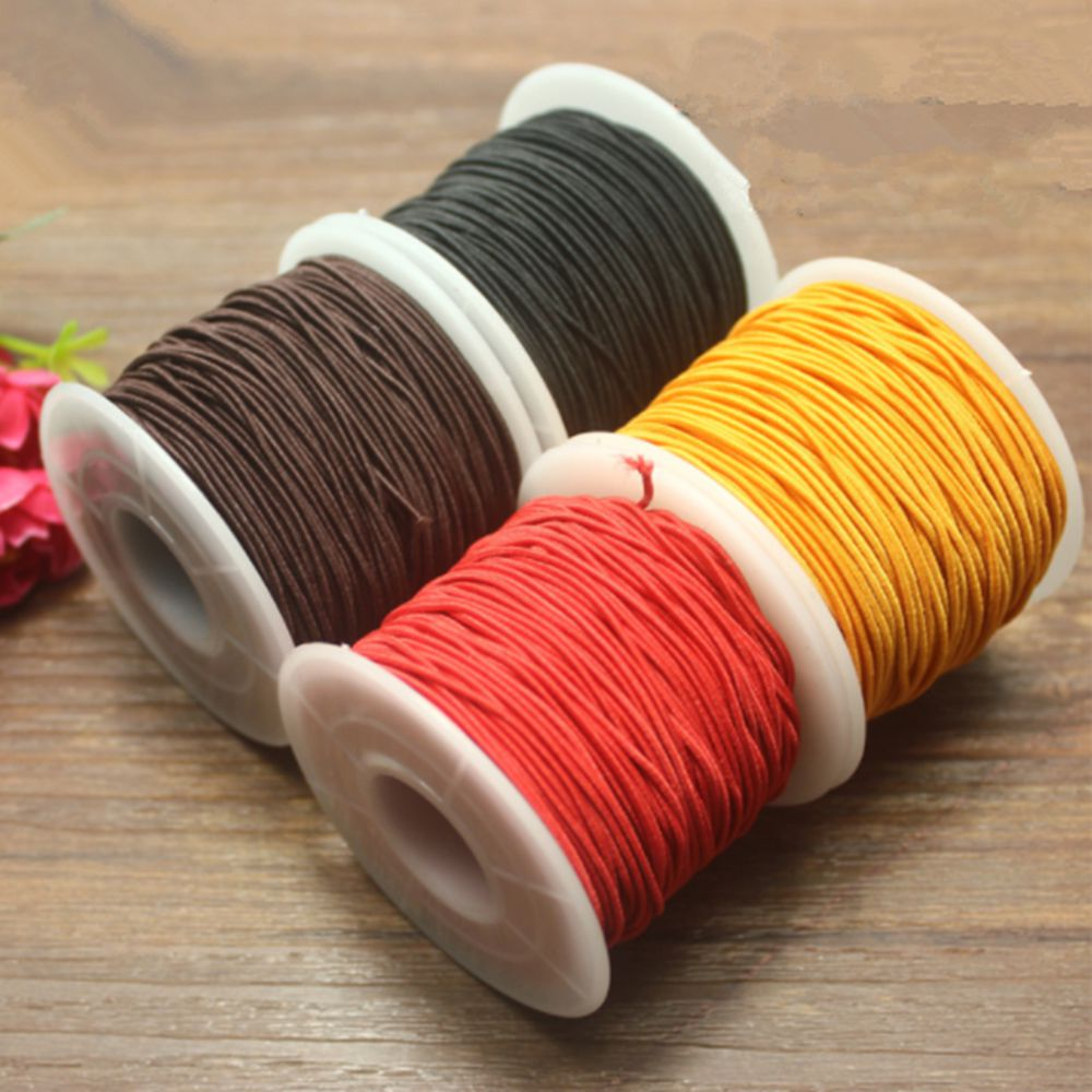 1 Roll 16M of Clear Stretch Beading Cord 0.5mm Kids Craft Bracelets
