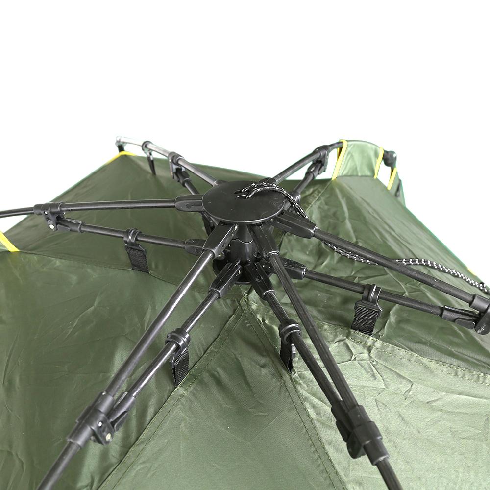 Campingzelt Strandmuschel Strandzelt Automatik 200 x 220 x130cm doppelt Schicht