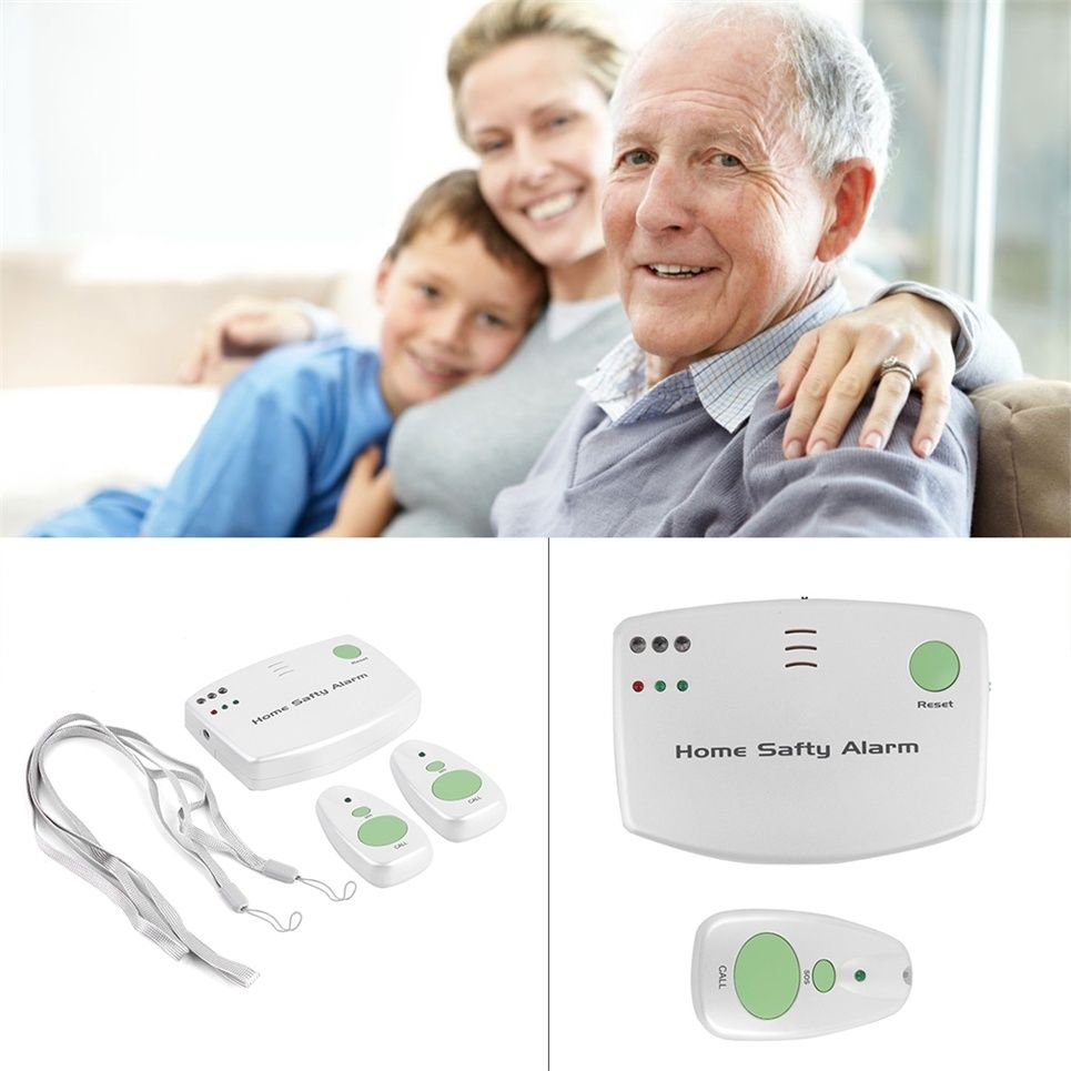 Home Safety Alarm SOS Alert Call System For Patient Medical Elderly ...