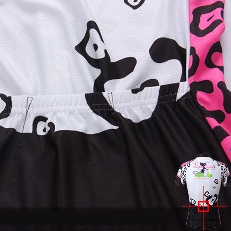 f76913021 Cat Girls Women s Short Sleeve Cycling Jerseys Tops Bike Bicycle Jerseys  Shirt
