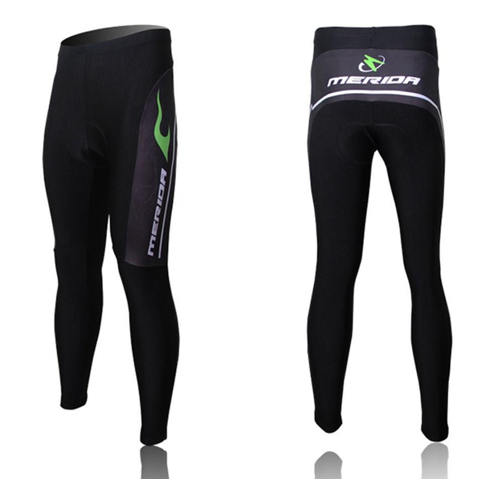 Black Men/'s Cycling Long Pants Tight Padded Bicycle Bike Pants Compression S-5XL