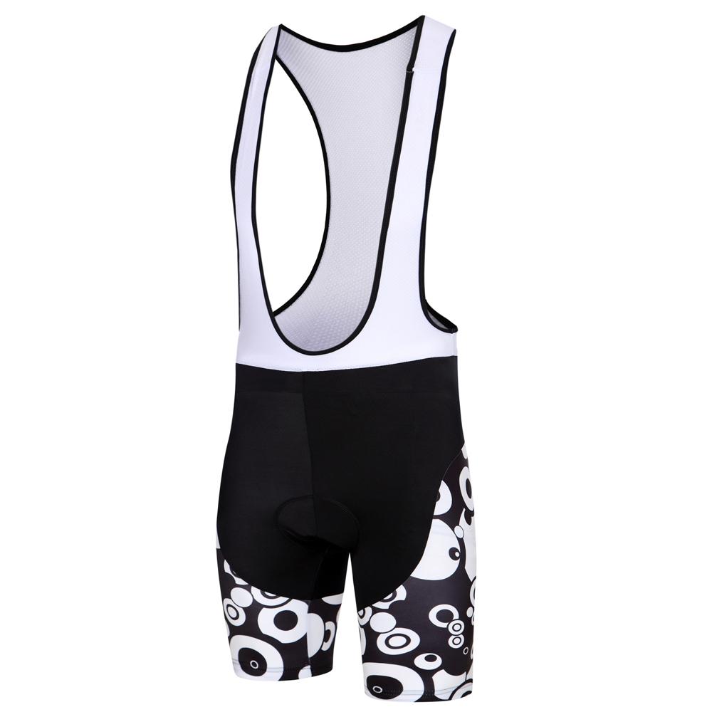 Circles MTB Bike Jersey and Bib Shorts Set Men/'s Cycling Kit Black White S-5XL
