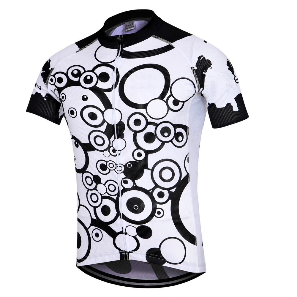 Black Men/'s Cycling Shirts Full Zip Cycle Bicycle Bike Jersey Tops S-5XL