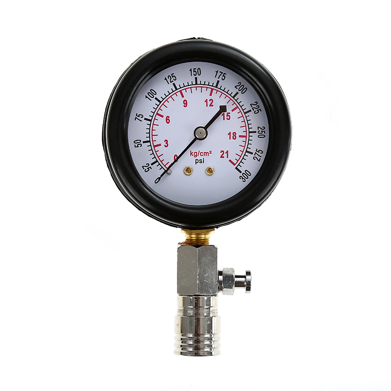0-21 kg//cm 2 Motor Zylinder Manometer 0-20 bar Kompression des Benzinmotors Auto Pression Tester von 0 bis 300 psi