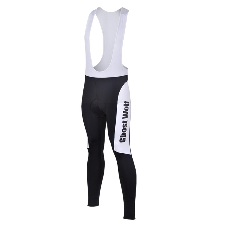 Pants Padded Set Bib Ghost Wolf Men/'s Cycling Kit Long Sleeve Cycling Jersey /&