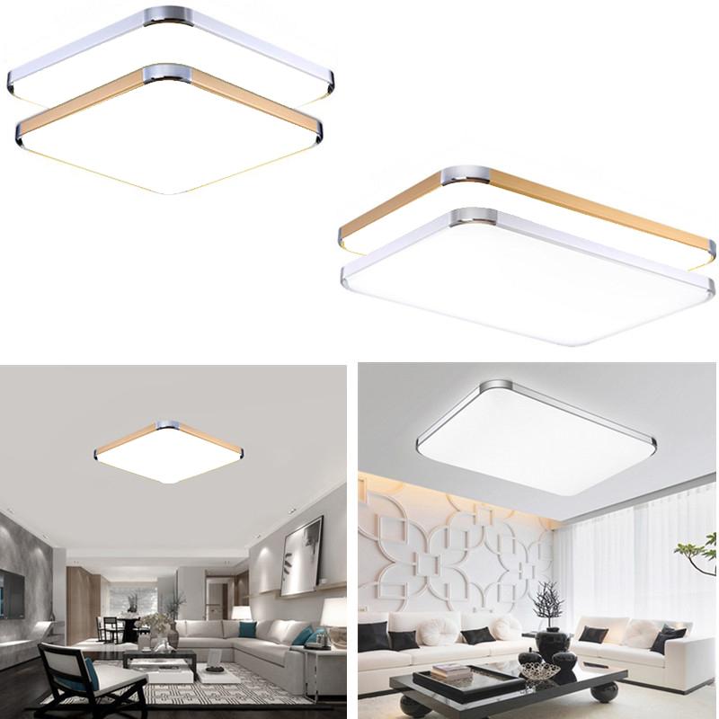 12w 96w led deckenleuchte badleuchte k che deckenlampe kaltwei badlampe licht ebay. Black Bedroom Furniture Sets. Home Design Ideas