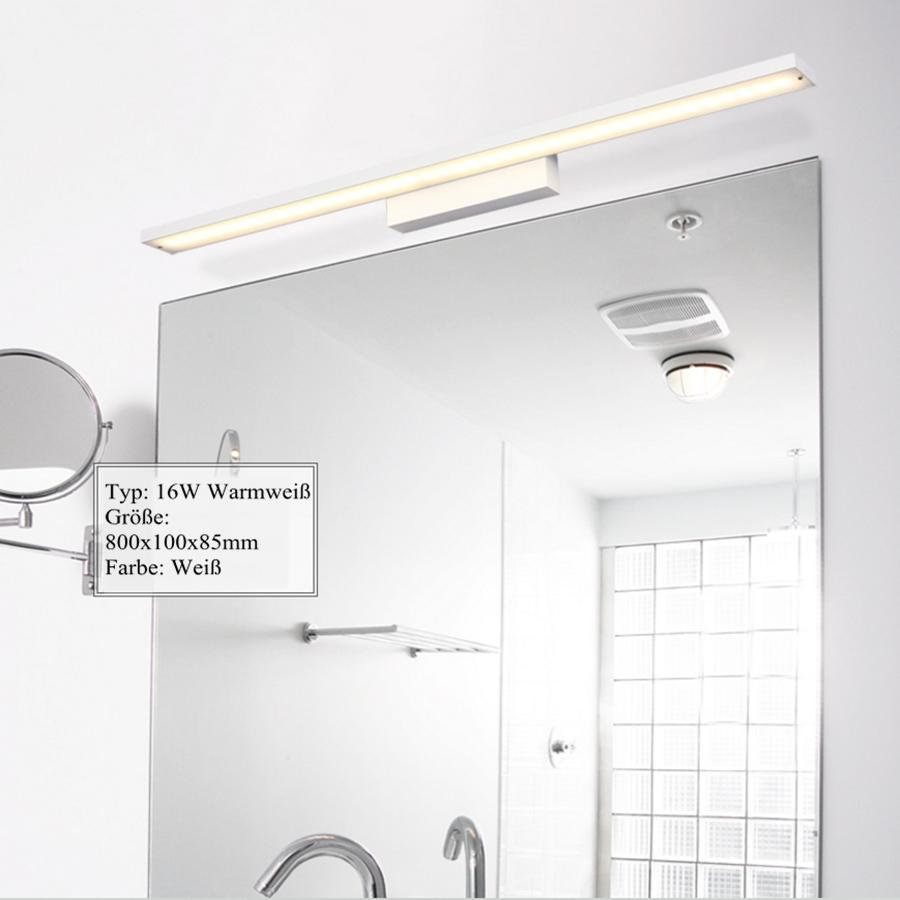 Led spiegelleuchte spiegellampe badleuchte bilderleuchte badezimmer wandleuchte ebay - Spiegelleuchte badezimmer ...