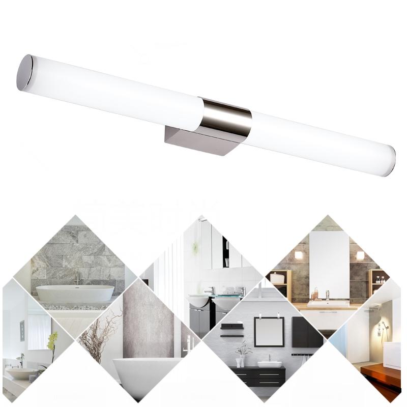 Lampada da specchio luce a led faretto lampade da parete bagno arredo 8w 24w ebay - Lampada da bagno ...