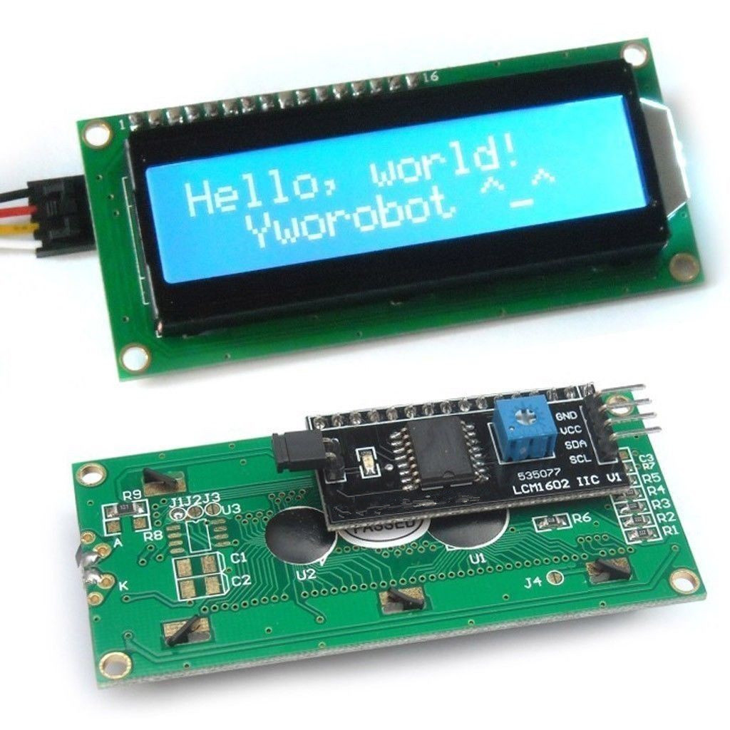 SunFounder IIC I2C TWI 1602 Serial LCD Module Display for Arduino R3 Mega 2560 16x2