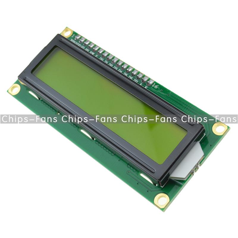 DC 3.3V HD44780 1602 LCD Display Module 16x2 Character LCM Blue Blacklight NEW