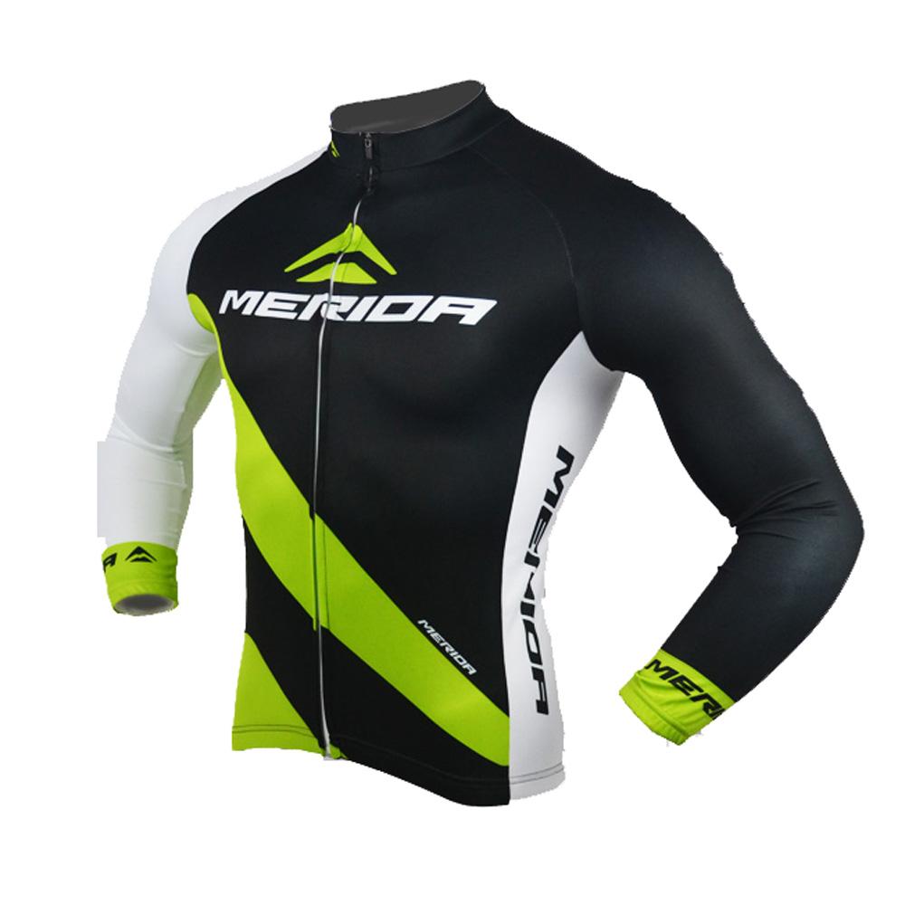 Merida Arc Men/'s Cycling Jersey Long Sleeve Bike Bicycle Shirt Jacket Reflective