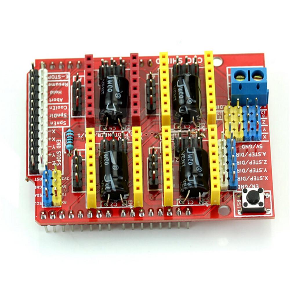 CNC Shield V3 3D Drucker Expansion Board Engraver A4988 DRV8255 für Arduino
