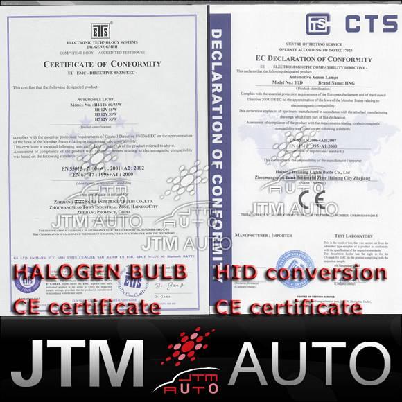 9005 65W BULB 5500K WHITE HALOGEN GLOBES ISO9001 PASSED