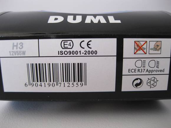 9006 HB4 55W BULB 5500K WHITE HALOGEN GLOBES ISO9001 PASSED