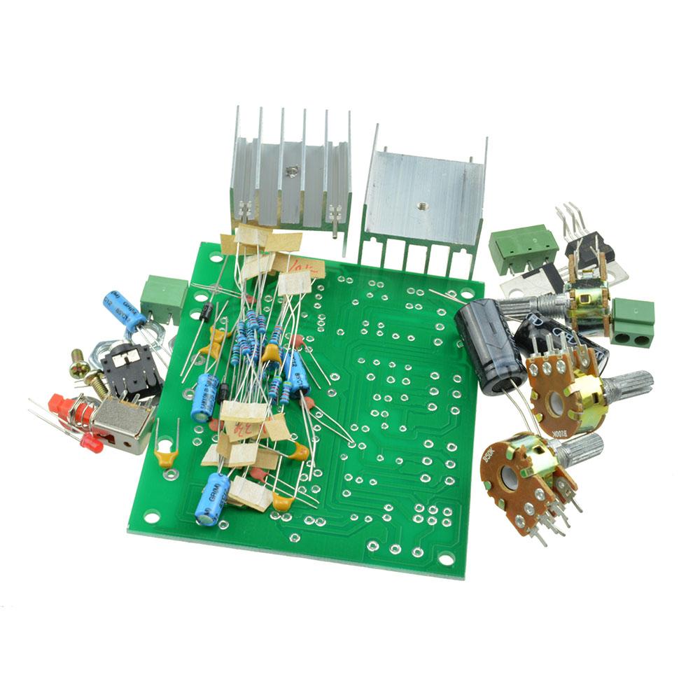DIY AC 12V Two 2.0-Channel 15W+15W TDA2030A hifi Stereo ...