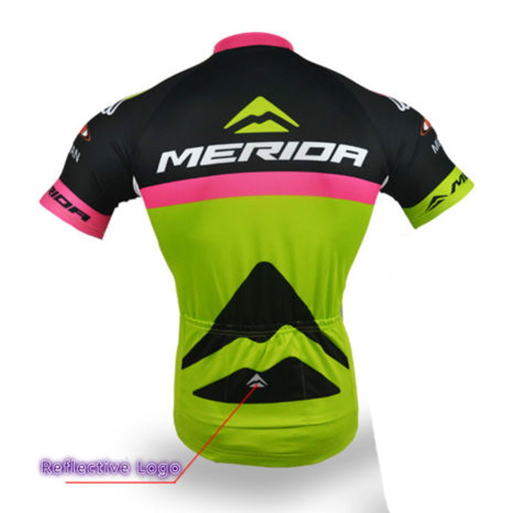 Merida Challenger Cycling Team Clothes Men/'s Cycle Bike Jersey Set Reflective