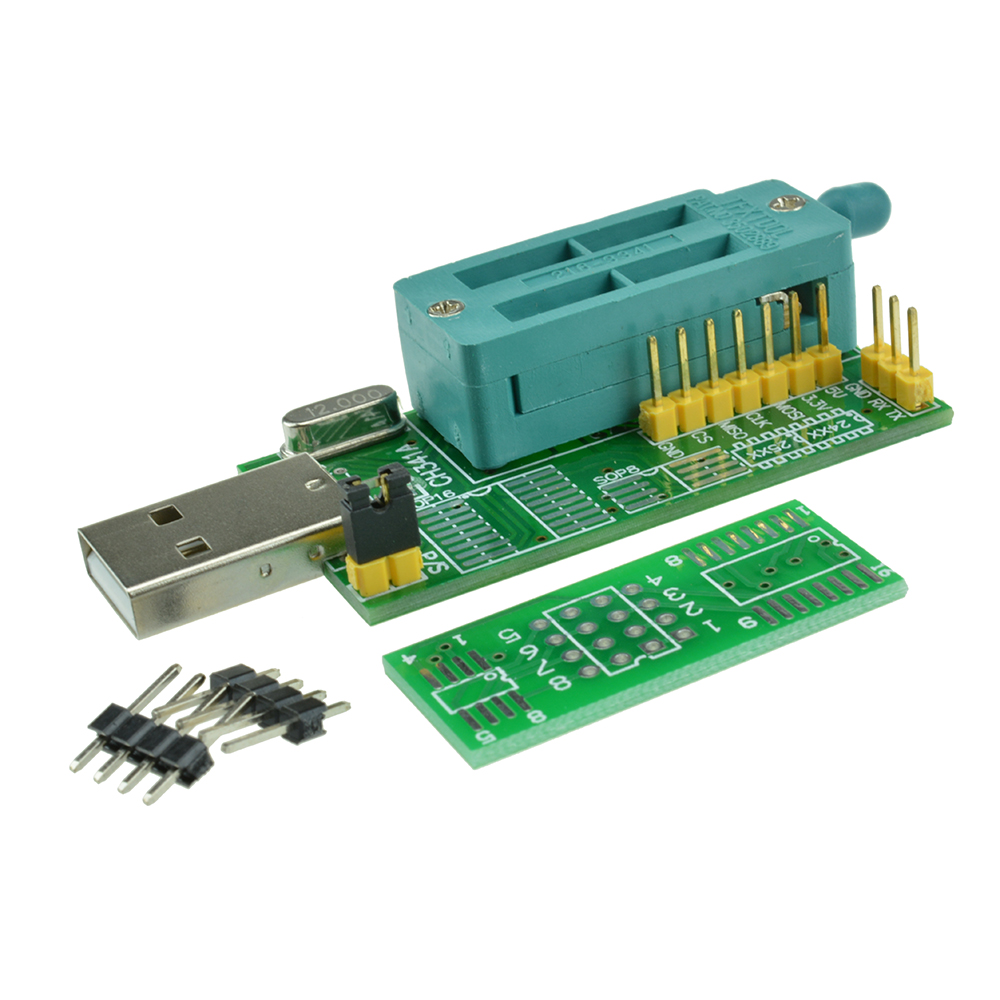 Details about Multifunction CH341A Router USB Programmer LCD Burner Bios  Board 24 25 Series