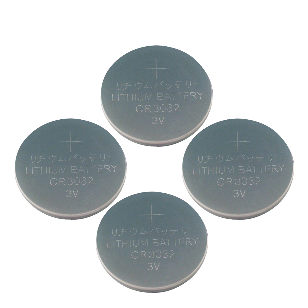 4X CR3032 BR3032 3V Lithium Batteries DL3032 Watch Button Co