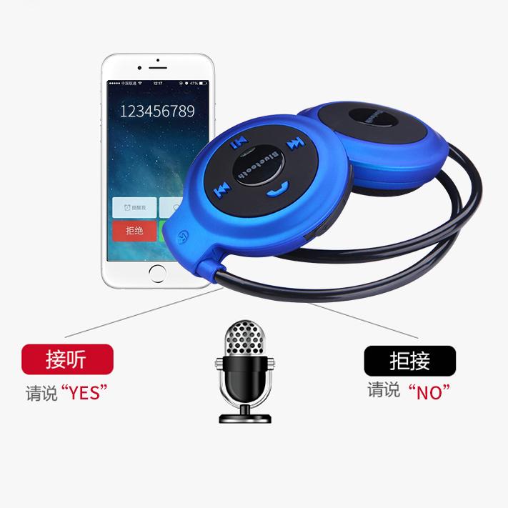 Universal-Bluetooth-4-0-Auriculares-Inalambricos-Deportivos-Estereo-FM-TF-USB miniatura 30