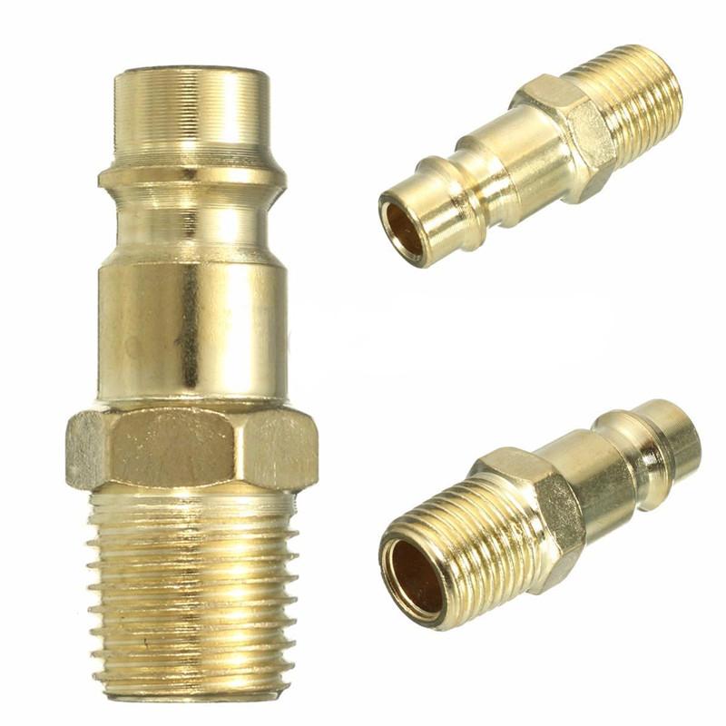 "5Pcs 1//4/"" BSP Female Thread Compressor Coupler Connector Air Line Hose End"