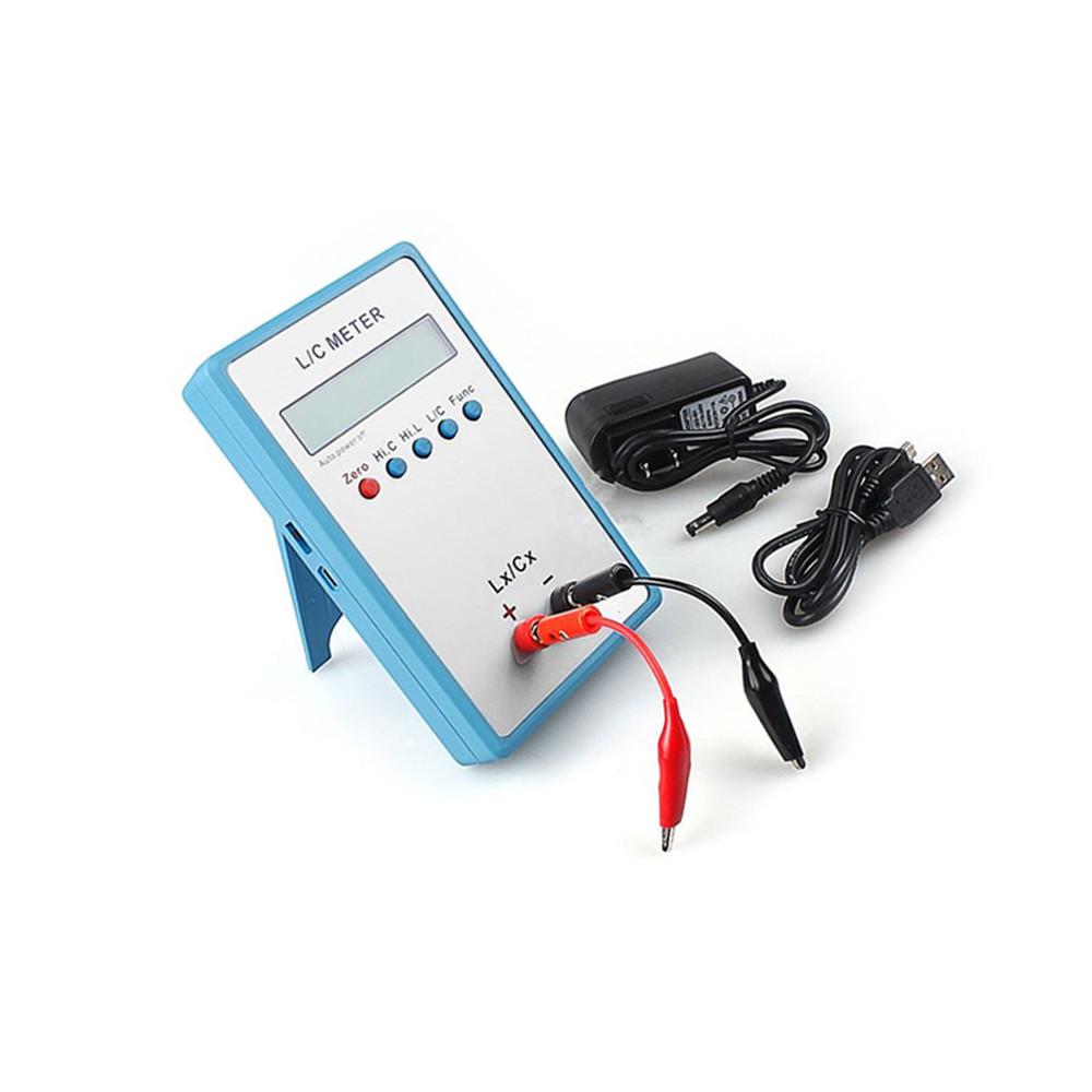 Handheld Capacitance Inductance L//C Meter LCR LC200A Multimeter Electric Bridge
