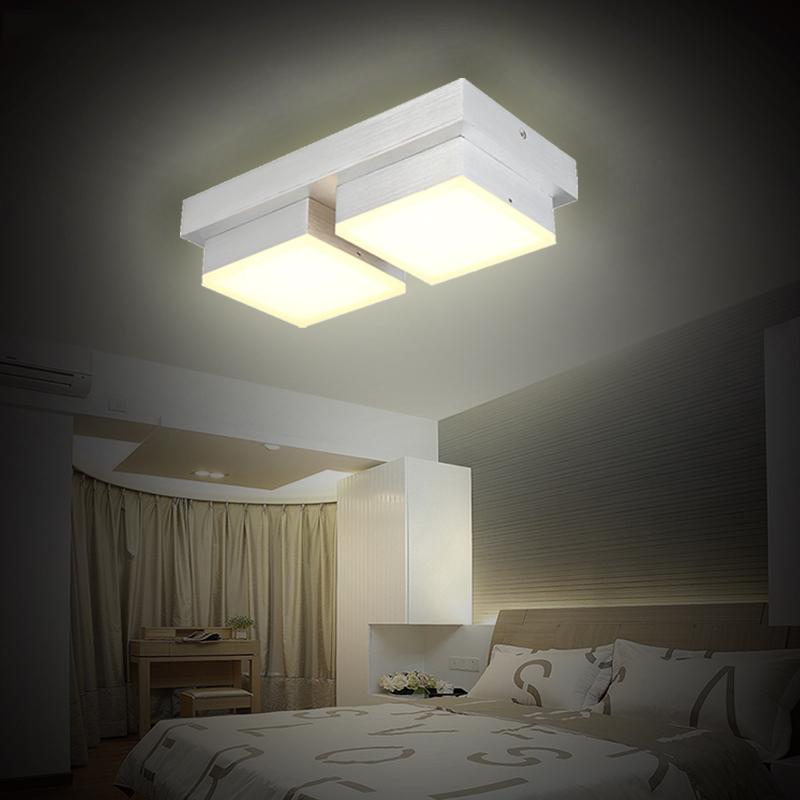 led deckenlampe deckenleuchte lampe wohnzimmer schlafzimmer acryl modern leuchte ebay. Black Bedroom Furniture Sets. Home Design Ideas