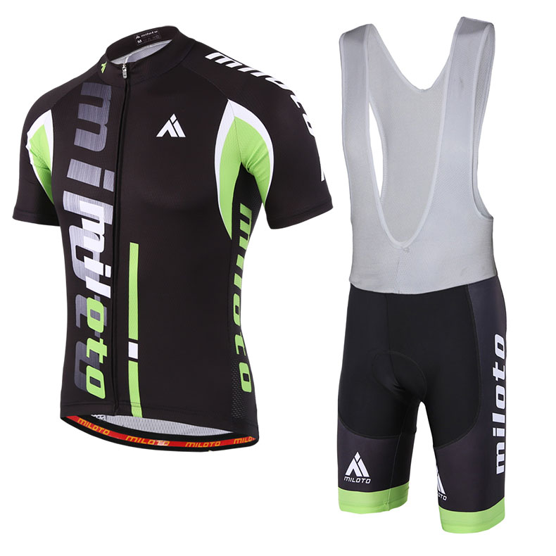 Shorts Bike Short Set S-5XL Bib Green Men/'s Cycling Kit Cycling Jersey and