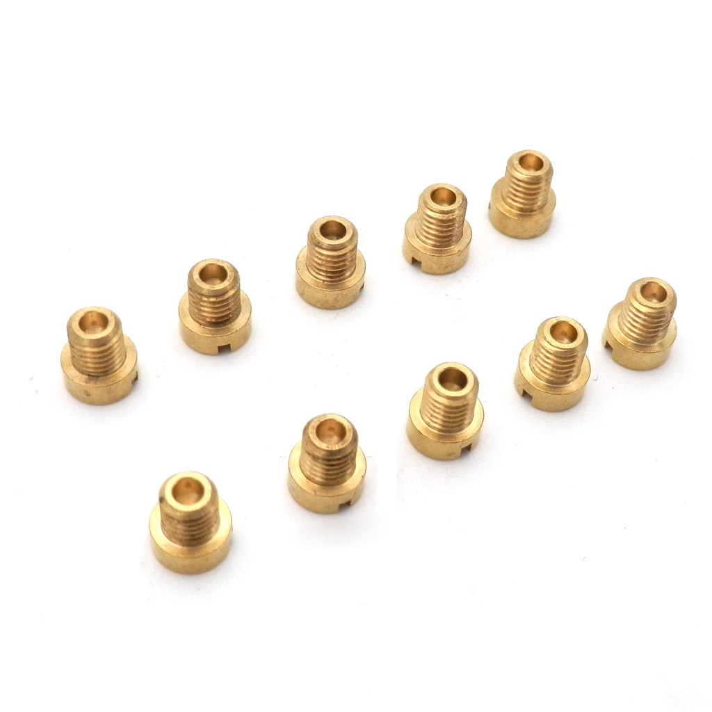 Vergaser Düsenset 5MM 10 Stück 40-60 für Dellorto Baotian BT125T-8A 125 2007-20
