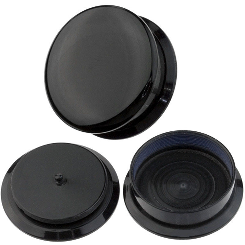 """Details about Pair Black Acrylic Screw Ear Plug Taper Tunnel Expander Stretching Kit 4g - 3/4"""""""