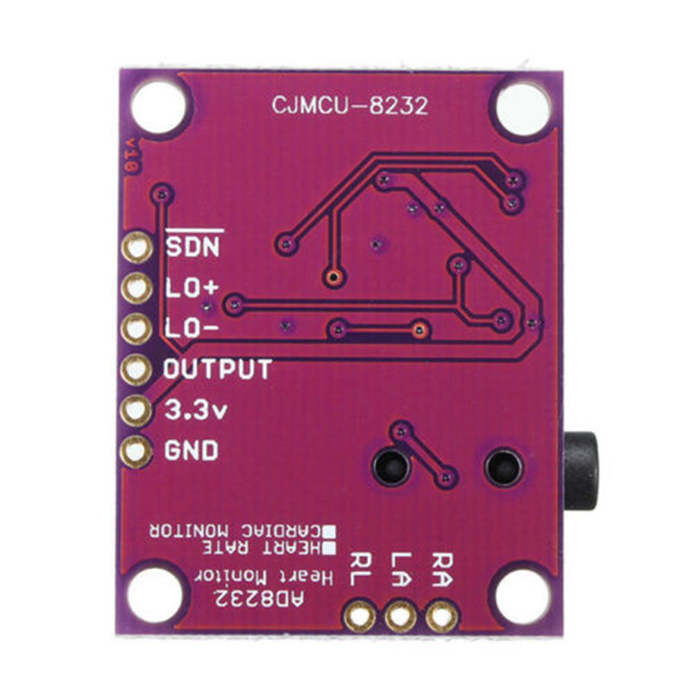 CJMCU-8232 AD8232 ECG Heart Monitoring Sensortection ModulR BE