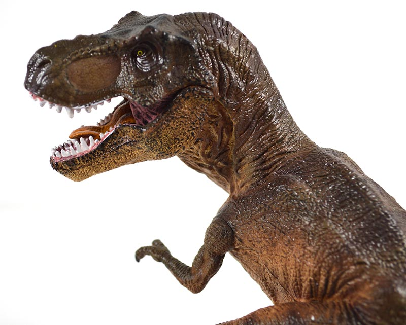 """Tyrannosaurus T-rex with cub Dinosaurs Model Figure Toy 12"""" FloZ Collectible"""