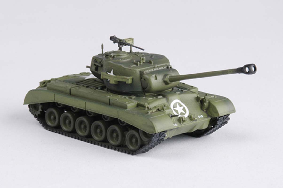 WWII US army M26 Pershing Tank 2nd Armored Division 1:72 no
