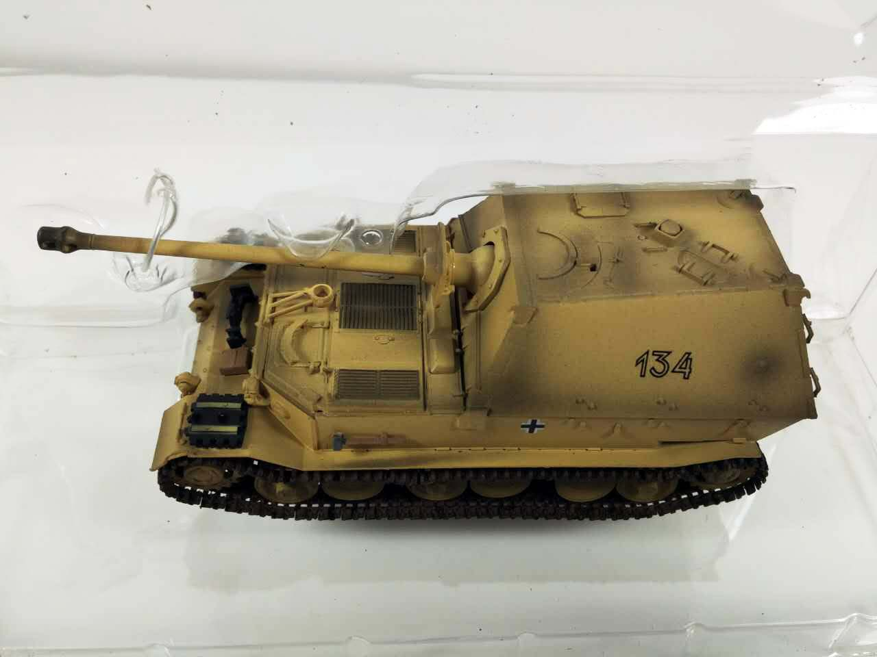 WW2 German Panzerjager Ferdinand tank destroyer 653 Orel 1:72 finish Easy Model